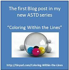 Chopeta's new Coloring Between the lines ASTD Blog